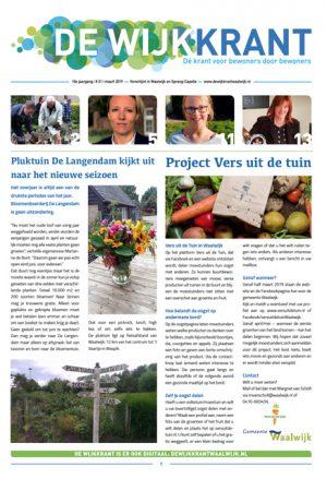 Cover Wijkkrant 1 2019