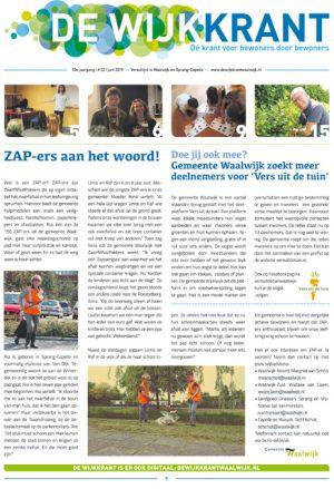 Cover Wijkkrant 2 2019