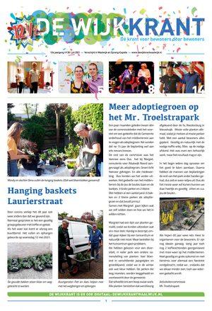Cover Wijkkrant 2 2021